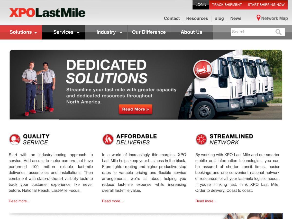 XPO LastMile screenshot